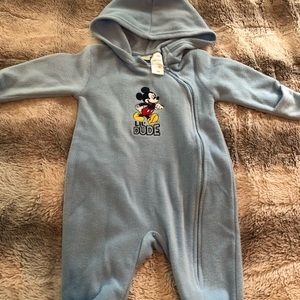Disney Jackets & Coats - Baby Boy Mickey Mouse Coverall